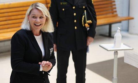 Monica Mæland feier rett inn på en av de øverste plassene på Hordaland Høyres valgliste, om hun selv vil.