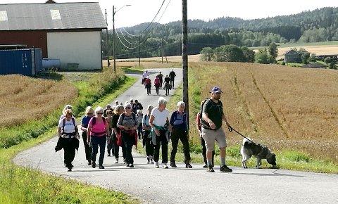 Pilegrimsvandring i Ekebergdalen.