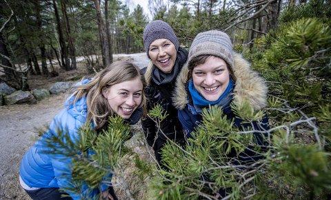 Kartlegging: Disse ønsker dine innspill når det gjelder friluftsområder i kommunen. Fra venstre: Anne Sofie Bråge Fjeldstad, Mariann Gagnås og Kristin Lugg.foto: geir a. carlsson