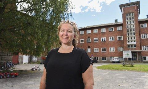 LEGGES NED: Mottaksleder på Veumalléen, Jorid Dalsegg Bertelsen. foto: Kent Inge Olsen