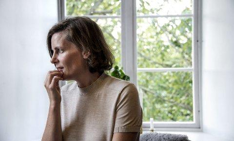 Indre trykk: Monica Isakstuen begynte å skrive for å få utløp for alle tankene. Sju år etter debuten er nå hennes femte utgivelse kommet. Og neste uke blir en av romanene, «Om igjen», teaterstykke. Boken fikk blant annet terningkast fem i VG da den kom ut i 2014.