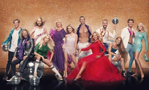 """HELE FELTET: Denne gjengen skal kjempe om å vinne """"Skal vi danse"""" 2018."""
