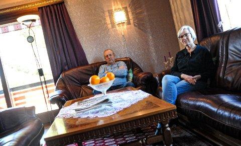 MÅ SEES: Øistein og Eva Brit Hansens boligsalg traff koronakrisen midt på hakespissen. Nå satser ekteparet på at østfold-markedet forblir motstandsdyktig en liten stund til.