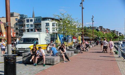 Smitterisikoen i Fredrikstad har sunket betraktelig. Men husk likevel smittevernrådene om å holde avstand, vaske hender og bli hjemme når du er syk (og test deg).
