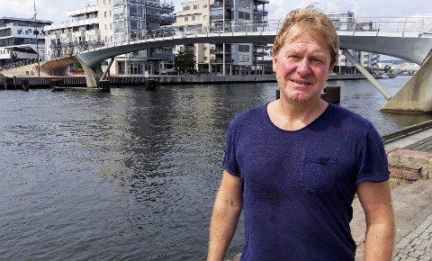 I dag ser Flemming R. Johansen sprek og opplagt ut, etter at kroppen hans «hanglet» i flere år. 8FOTO: GEIR LØVLI