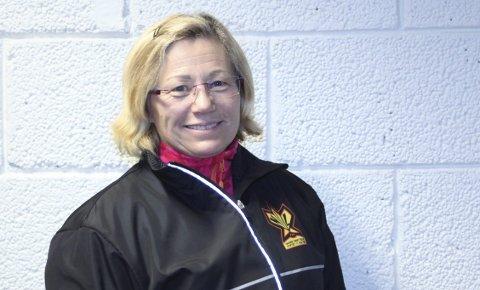 BESTEMMER: Kari Ann Nygård fra Narvik er med på å påvirke utviklingen av norsk friidrett i sin rolle.