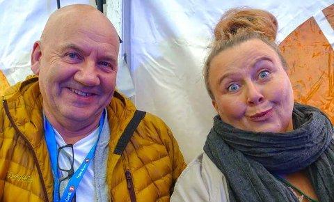 Trond Anker Larsen og Anne Mari Skjærvik elsker hverandre høyt. De har vært sammen i åtte år.