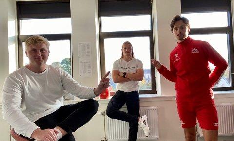 PÅ PLASS: Truls Erik Grøtta er ukas gjest i Sportsprat.