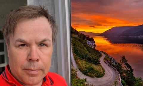 FOTOGRAF: Lars Odland Åkre er populær på Instagram der han kvar veke deler bilde med følgjarane sine. Dei fleste bilda er tatt i Hardanger-regionen.