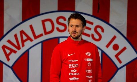 NY BRIKKE PÅ PLASS: Per Inge Jacobsen og Avaldsnes brukte ikke lang tid av det nye året på å signere en ny spiller.