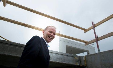 OPPOVER: Frank Vikingstad og IT-aktøren Sysco på Raglamyr kan vise til markant økonomisk vekst.