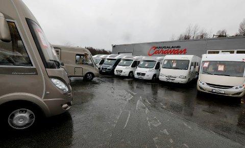 MOTSTRØMS: Kroken Caravan (tidl. Haugaland Caravan) på Frakkagjerd opplevde ti prosent økning i salget i fjor.