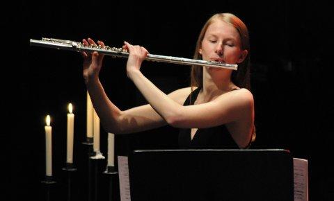 Julekos: Andrea Moby Røreng er blant musikerne som deltar på konserten «Heim te`jul» 23. desember.