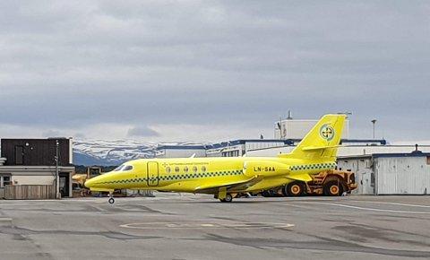 Luftambulansetjenesten forlenger kriseplanen for ambulansefly i Nord-Norge