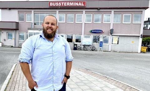 Gard Lehne Borch Michalsen er for tiden i Harstad. Bildet er tatt sommeren 2020.