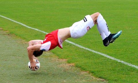 ASKER NESTE: Pål Aamodt er en av de 11 som starter for Bryne i den første sluttspillkampen.