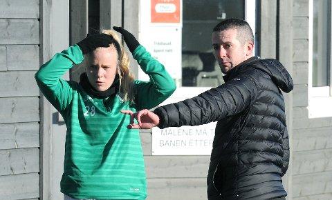 TIL BERGEN: Julie Austdal er en av a-lagsspillerne trener Nick Loftus har til disposisjon mot Arna-Bjørnar.