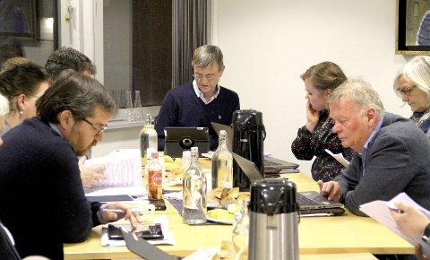 ENSTEMMIG: Forvaltningsrevisjon i Lørincz-saken er ikke nødvendig, mener kontrollutvalget i Holmestrand, med leder Stig Atle Vange (i midten). Foto: Lars Ivar Hordnes