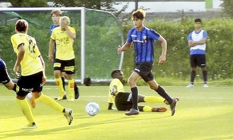 Ungt Talent: Jørgen Thue Kristiansen er bare 16 år, og snuser på sin eliteseriedebut med Stabæk. Foto: Svein Halvor Moe