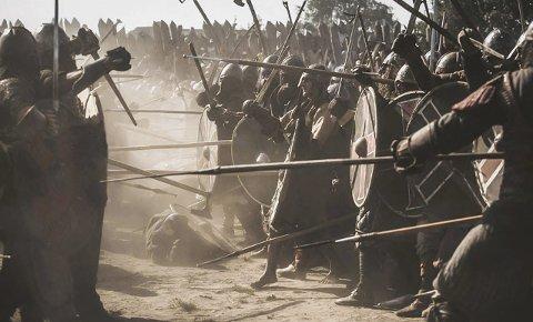 DØD OG ÆRE: «Vikingenes største slag» forteller blant annet om hvordan man oppførte seg når slutten kom, var sentralt i vikingenes æresbegrep. FOTO: BARTEK JANICZEK