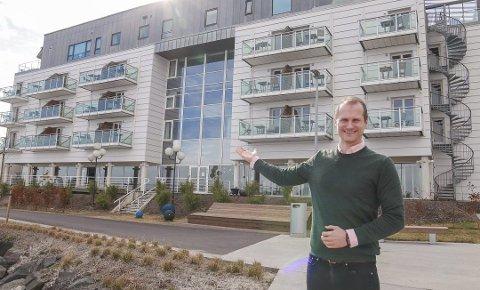 Velkommen: Både til hotellgjester – og til pasienter om nødvendig. Foto: Ulrikke G. Narvesen