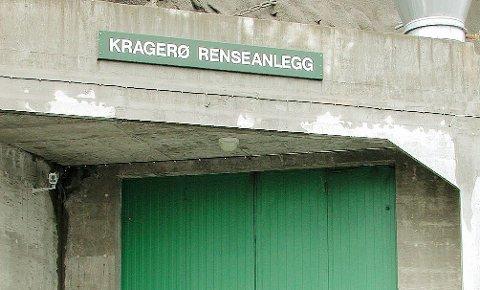 NYTT RENSEANLEGG: I hovedplanen for vann og avløp i Kragerø kommune er det satt av penger til utredning av et helt nytt sentralrenseanlegg. (Arkivfoto)