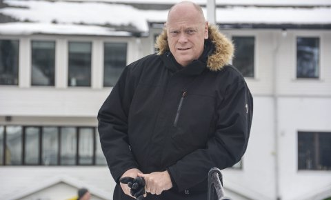 Helge Munkås Andersen fra Kragerø er en av dem som vil jobbe med blant annet byutvikling i Skien kommune. Munkås Andersen er opprinnelig fra Kragerø, men har bodd utenbys i mange år. Her er han fotografert ved en annen anledning.