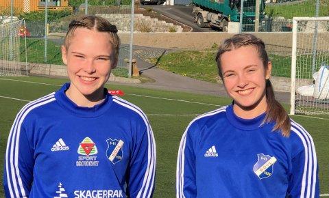 Både Andrea Thorine Isaksen Fluer Vikre  og Live Laursen Bertelsen skal spille for 2. divisjonslaget Stathelle.