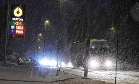 Desember ble en månede med både regn og snø, varmegrader og sprengkulde.