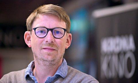 Søker kompensasjon: Kinosjef Even Thunes Jensen har søkt om å få dekket 1,2 millioner kroner i tapte billettinntekter for perioden 1. mai til 31. august.