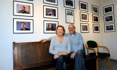 FÅR PRIS: Ragne og Rolf Sommerseth får Lier kommunes kulturpris for 2017. De får prisen for sitt arbeid med Lierskogen kulturkirke, der en lang rekke av både lokale og landskjente aktører har bidratt under kulturkveldene.