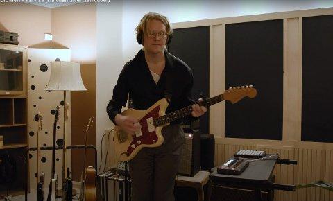 """Cover: Lyse Netter har spilt inn en versjon av Halvdan Sivertsens """"Nordaførr - vårvise"""". Isak Falch Alsos og bandet fikk Sivertsens godkjenning til å lage sin tolkning"""