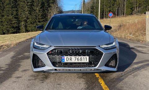 Her kjører vi nye RS 6 i Norge – testen får du snart se her på Broom.no.