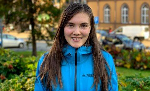 NY HVERDAG: Yngvild Kaspersen (26) er en av Norges beste fjelløpere.