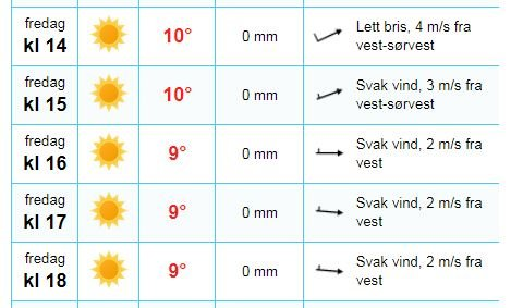 STRÅLENDE FEIRING: Selv om temperaturene ikke når de store høydene fredag, vil sola etter hvert prege nasjonaldagen.