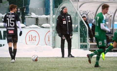 FERDIG: Kevin Knappen får ikke fornyet kontrakt i HamKam. Dermed er han ferdig som hovedtrener i klubben etter sesongen.
