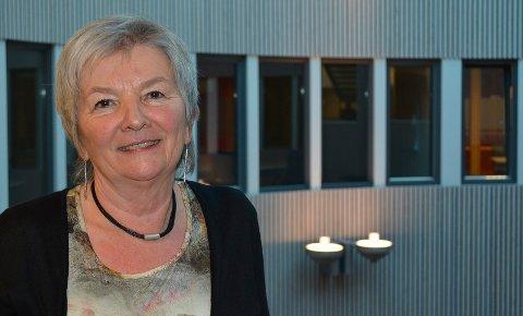 GODE SKUSSMÅL: Dekan Ingrid Guldvik er glad for at sykepleieutdanningen i Elverum får så gode skussmål fra studentene.