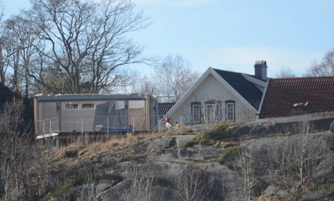 Grillhuset i Sjøbusand på Tjøme er nå revet.