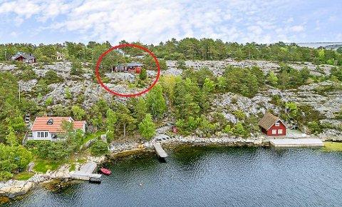 8,6 MILLIONER: Hytta på Kjønnøya i Bamble gikk mandag denne uka for 8,6 millioner kroner.