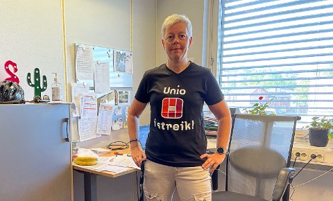 IKKE IMPONERT: Leder i Utdanningsforbundet i Porsgrunn Gro Jørandrud er ikke spesielt imponert over regjeringens siste utspill om vaksiner.
