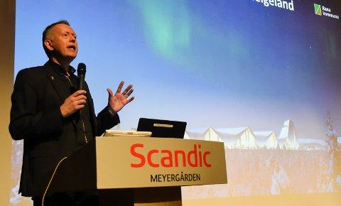 - Arbeidene med å bygge den nye flyplassen starter før 1. august 2020, sa daglig leder Henrik Johansen i Polarsirkelen Lufthavnutvikling under næringsforeningens julefrokosti Meyergården Spektrum.