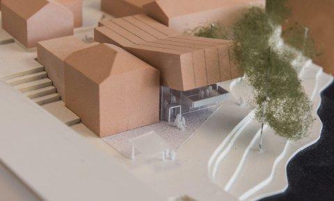 Slik kan det bli seende ut, hvis planene videreføres slik arkitektfirmaet Stein Halvorsen foreslår.
