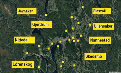 JEVNAKER: En av kommunenene med størst vekst i Norge er Jevnaker.