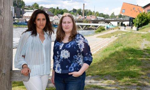 PERMITTERT: Wenche Malene Bjerke (t.v.) og Karina Jenshagen ble permittert fra hotelljobbene deres. Den ene har fått dagpenger, men ikke den andre. Bjerke jobber inntil 50 prosent, mens Jenshagen fortsatt venter på å få komme tilbake på jobb.