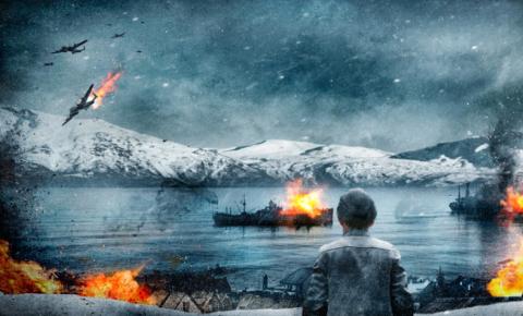 60 DAGER: Slaget om Narvik varte i 60 dager, og etterlot Narvik helt nedbrent, likevel var det et stort nederlag for Hitler.