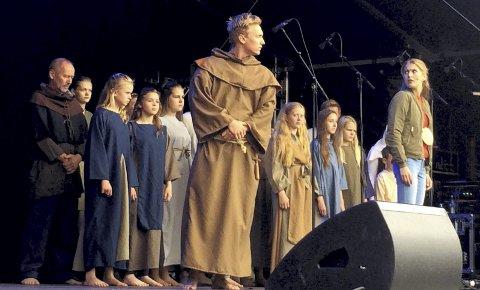 PREMIERE I KVELD: Romerike Friteater setter opp seks forestillinger av Limaspillet, og startskuddet går i kveld. foto: stine strandhaug