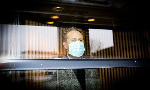 ØKT SMITTE: Ordfører i Ullensaker, Eyvind Jørgensen Schumacher, er ikke lenger like optimistisk som det han var tidligere i forrige uke etter at smittetallene i Ullensaker kommune gikk opp igjen før helgen.