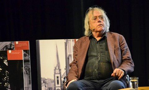 ROMANKLAR: Dag Solstad (78) har skrevet en tredje, og absolutt siste, roman om den pensjonerte kemneren Bjørn Hansen. Det får publikum høre mer om i Sandefjord bibliotek 24. september.