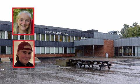 ELEVUNDERSØKELSE: Ida og Ulrik på Varden ungdomsskole ville vite hvordan deres medelever har det under koronapandemien.
