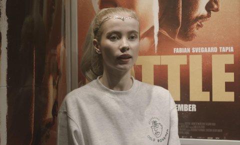 Sofie Albertine Foss i forbindelse med lanseringen av «Battle», som hadde premiere 28. september.